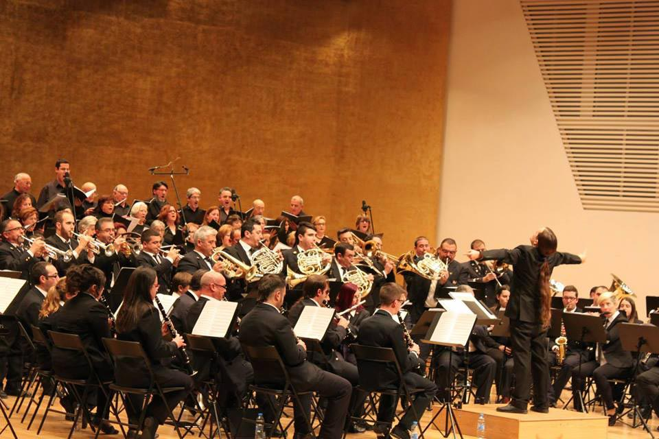 Sella band in concert - Miquel Morales conducts
